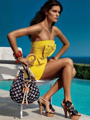 louis vuitton cruise collection ad campaign model by pool.jpg