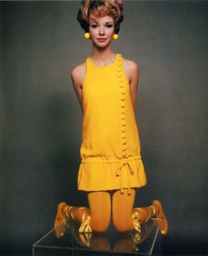 vintage model in yellow frock.jpg