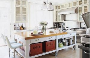 Kitchen pictures - myLusciousLife.com - kitchen island glass.jpg