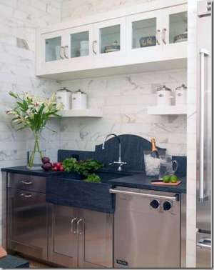 carrera tile kitchen via cotedetexas - Kitchen ideas - myLusciousLife.com.png