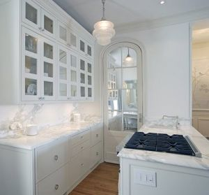 white marble kitchen arched door - www.myLusciousLife.com.jpg