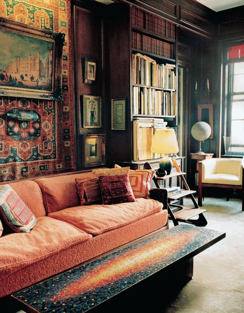 Living Room Like A Library: Stylish Home: Libraries