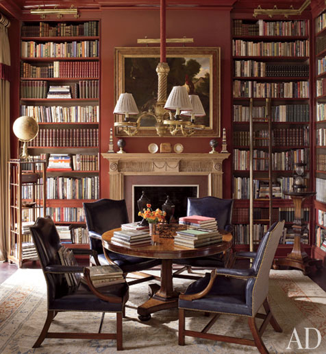 Old Study Room Design: Stylish Home: Libraries