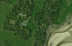 Satellite view of the Bodorgan Estate and Home Farm in Wales - Prince William and Kate Middleton.JPG