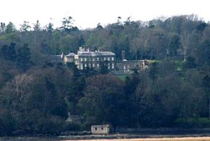View of the estate of Lord and Lady Meyrick at Bodorgan in Wales where Kate and William lived in Anglesey.jpg