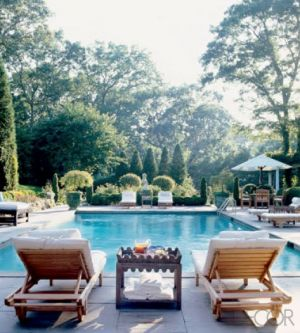 Luxury House Pool stylish home: pool houses and tennis pavilions