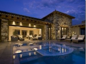 Pictures of pool houses - poolhomedesignfind via myLusciousLife.com.jpg