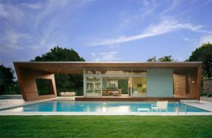 STYLISH HOME: Pool houses and tennis pavilions