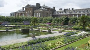 A general view of Kensington Palace in London where the Duke and Duchess of Cambridge, William and Kate, are residing