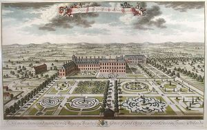 Kensington Palace from the south by Jan Kip - plate made for Britannia Illustrata 1707-08.jpg