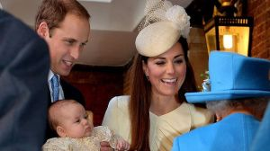 Kate and Wills with Prince George of Cambridge at his christening.jpg