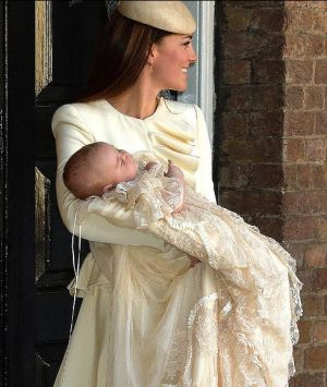 Prince George christening images - Duchess of Cambridge - October 2013.jpg