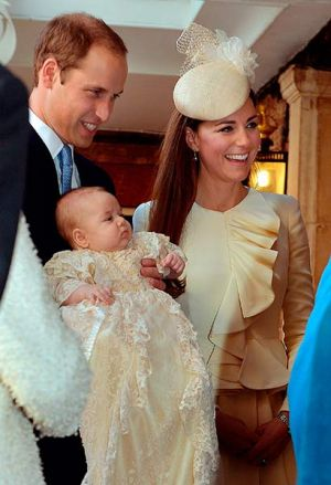 The happy family - Prince George christening ceremony photo - October 2013.jpg