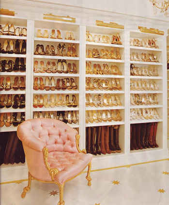 shoe wardrobe design ideas including some shoe closets of the stars