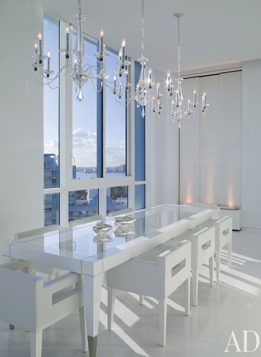 Arch Digest Dining Rooms