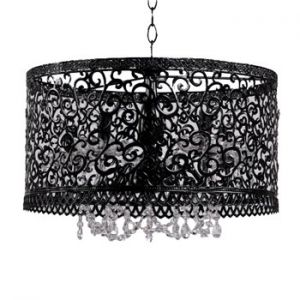 Beautiful chandelier - mylusciouslife.com - modern chic home.jpg