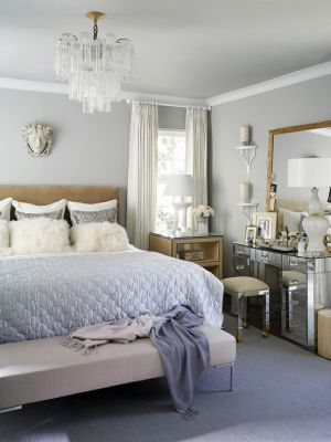 Bedroom with chandeliers - mylusciouslife.com.jpg