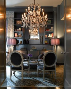 Elegant chandelier - mylusciouslife.com - Gorgeous Living Rooms - chandelier.jpg