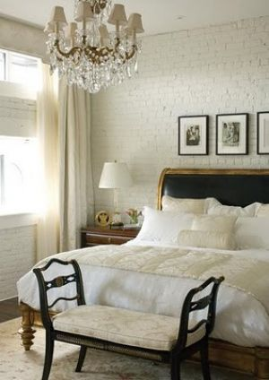 Glamorous chandelier - mylusciouslife.com - Bedroom with chandelier.jpg