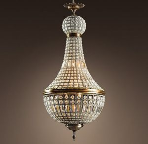 Glamorous chandelier - mylusciouslife.com - Empire Crystal Chandelier via Restoration Hardware.jpg
