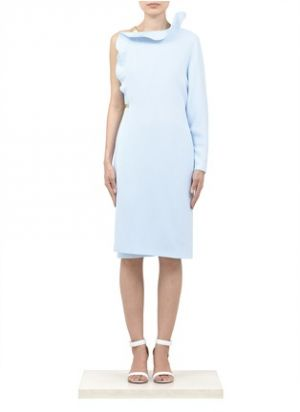 Givenchy pastel powder blue asymmetrical ruffle dress.jpg