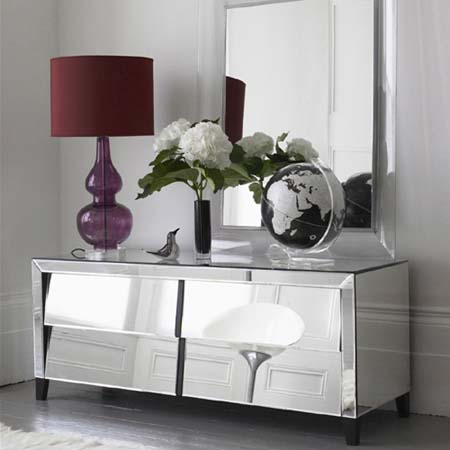 Exceptional ... Glamorous Furniture And Design Ideas   Mirror Furniture   Mirrored  Furniture Console ...