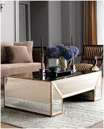 Stylish Home Mirrored Furniture