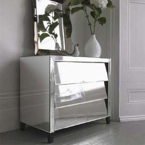 mirrored living room furniture. Mirrored living room furniture via mylusciouslife  grahamandgreen mirrorred 3chest drawer jpg Stylish home