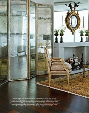 Decorating with mirrors - www.myLusciousLife.com - convex mirror double.jpg