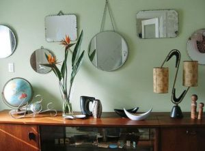 Decorating with mirrors - www.myLusciousLife.com - multiple mirrors together.jpg
