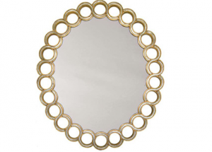 Mirror decoration - www.myLusciousLife.com - round curly mirror.png