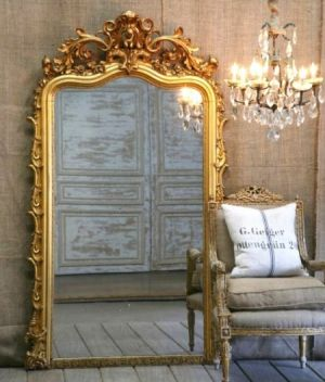 Large Gold Wall Mirror stylish home: mirror, mirror, on the wall – decorating with mirrors