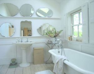 Stylish home - www.myLusciousLife.com - mirrored bathroom with multiple mirrors.jpg