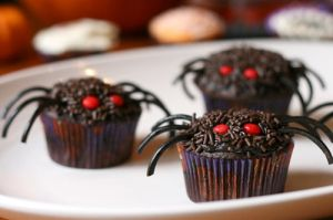 Halloween food photos - Spider cakes images.jpg