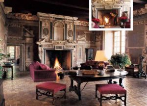 Decor with fireplace - Old fireplaces - renaissance-fireplace.jpg