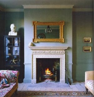 Fireplace mantel - Wood fireplace - maison claire.jpg