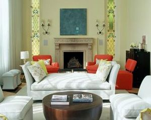 Fireplaces design - Fires - Brown fireplace decor.jpg