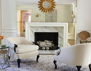 Gas fireplace - marble fireplace moulding hb.jpg