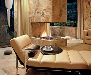 Sleek fireplace designed by Margaret McCurry of Tigerman McCurry Architects.jpg