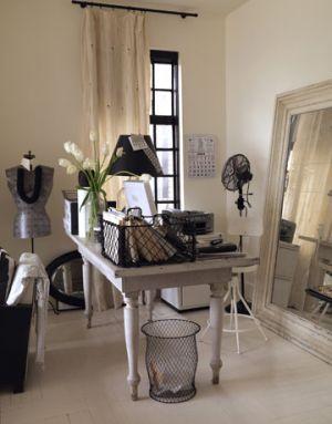 ... Greige Interiors   Grey And Beige   Office Studio Workshop2 ...