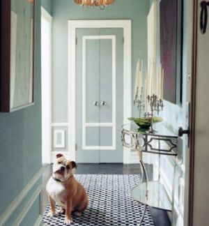 greige interiors - entryway_dog_domino magazine.jpg