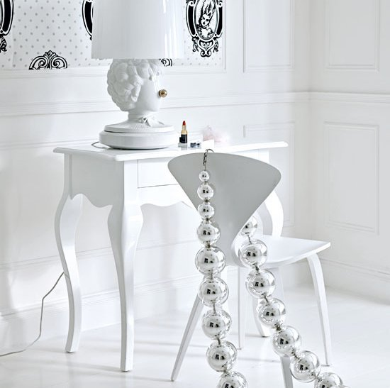 All White Interiors stylish home: all white interiors