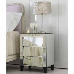 White decor - www.myLusciousLife.com - 50s Angled Drawer Cabinet.jpg