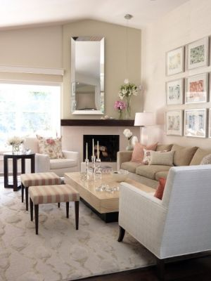 Elegant Photos Of Pink Decor   MyLusciousLife.com   Sarahs House   Season2   Living  Room ... Pictures