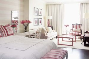 Sarah Richardson - pink Park Hyatt Breast Cancer Hotel Room - Toronto - pink room.jpg