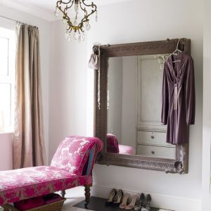 photos of pink furniture - myLusciousLife.com - Glamorous Dressing Room via House to Home.jpg