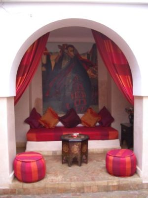 pink decorating ideas - myLusciousLife.com - Moroccan-inspired interior.jpg