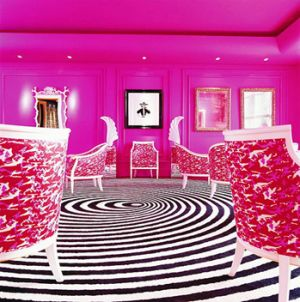 pink decorating ideas - myLusciousLife.com - The pink-salon.jpg