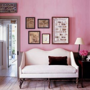 pink decorating ideas - myLusciousLife.com - pink-accent-wall.jpg