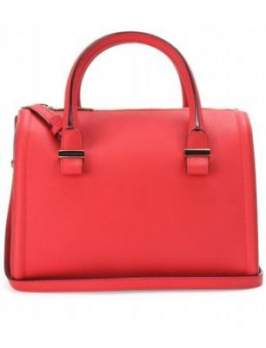 Victoria Beckham - Seven Leather Bowling Bag red.jpg